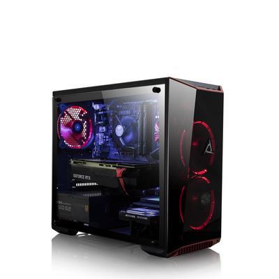 CLX SET RTH8905M with Intel Core i7 8700K 3.7GHz, 16GB Memory, NVIDIA GeForce RTX 2080 Ti Graphics, Gaming Desktop