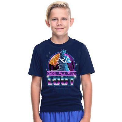 Fortnite Llama Give Me The Loot Youth T-Shirt