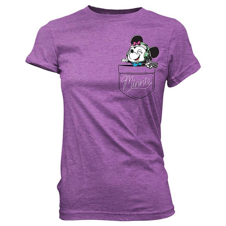 POP! Tee: Gamer Minnie Pocket T-Shirt