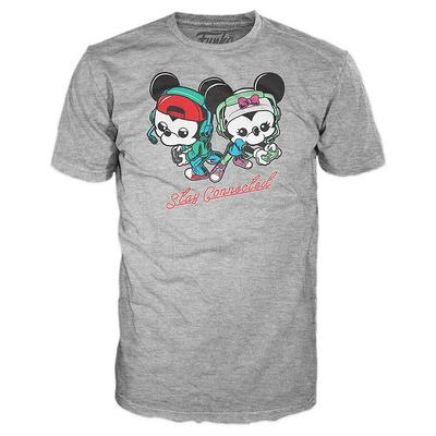 POP! Tees: Gamer Mickey: Minnie Gaming T-Shirt