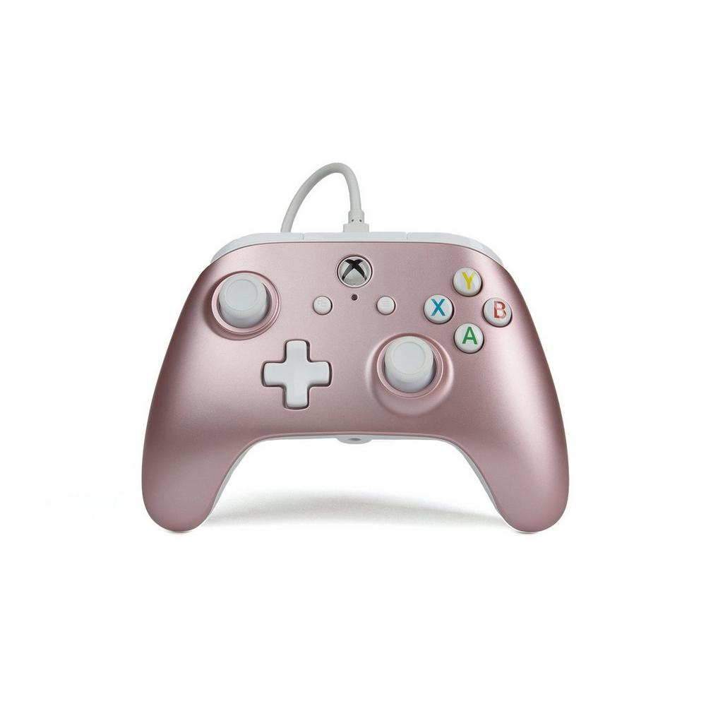 Xbox One Rose Gold Enhanced Wired Controller | Xbox One | GameStop