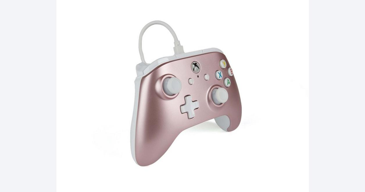 Rose Gold Enhanced Wired Controller for Xbox One