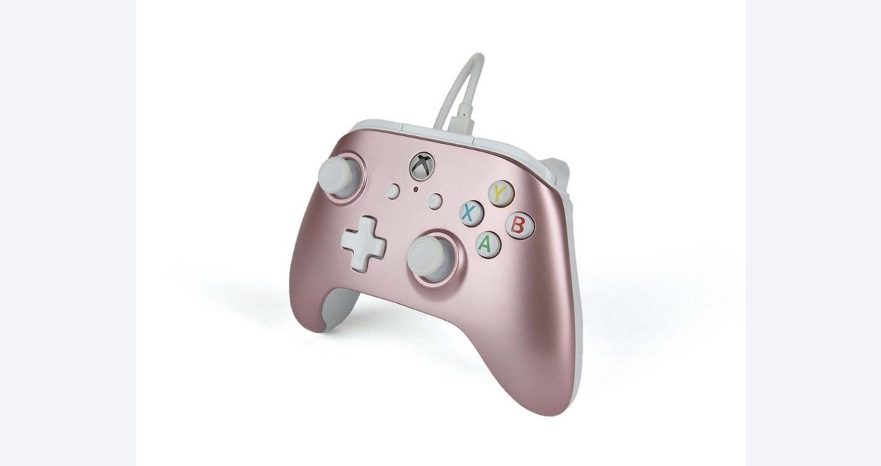 Xbox One Rose Gold Enhanced Wired Controller