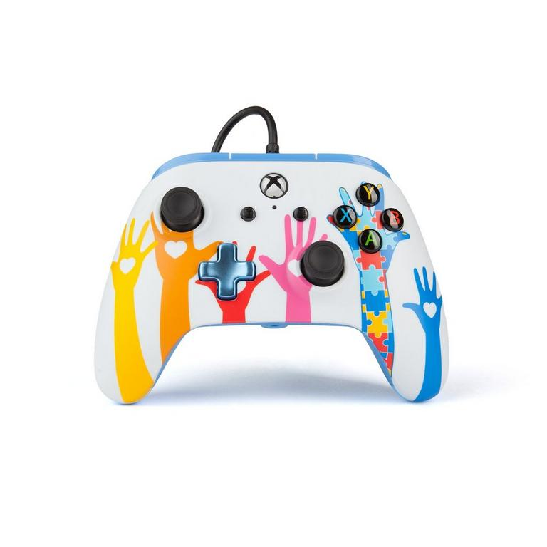 Xbox One Autism Awareness Wired Controller