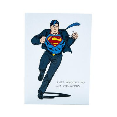 DC Superman Pop-Up Card