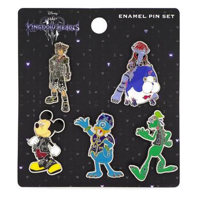 Kingdom Hearts III Pin 5 Pack