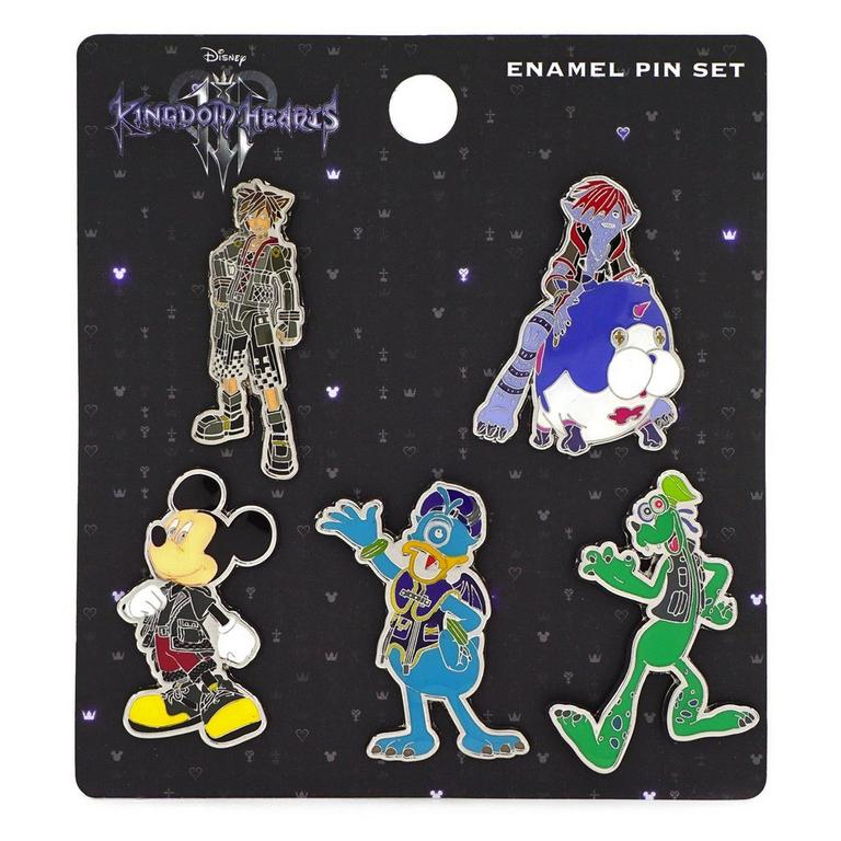 Kingdom Hearts III Pin 5 Pack