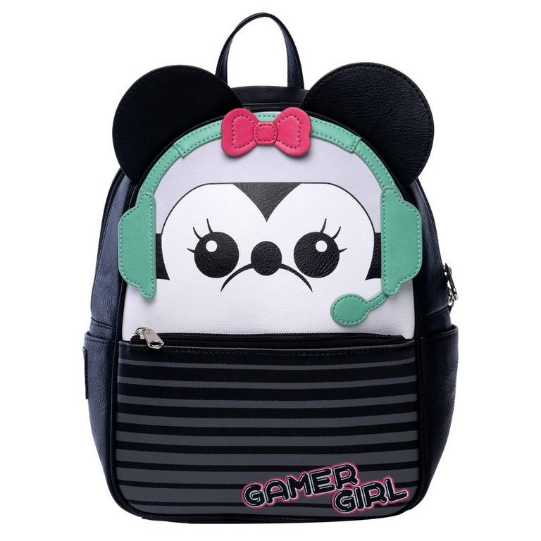 Gamer Minnie Mouse Mini Backpack