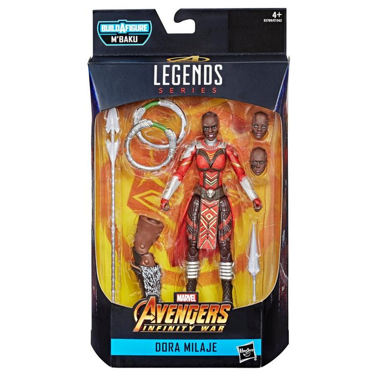 Marvel Legends Series M'Baku Dora Milaje Action Figure