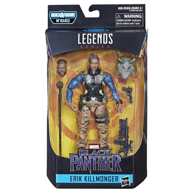 Marvel Legends Series M'Baku Erik Killmonger Action Figure