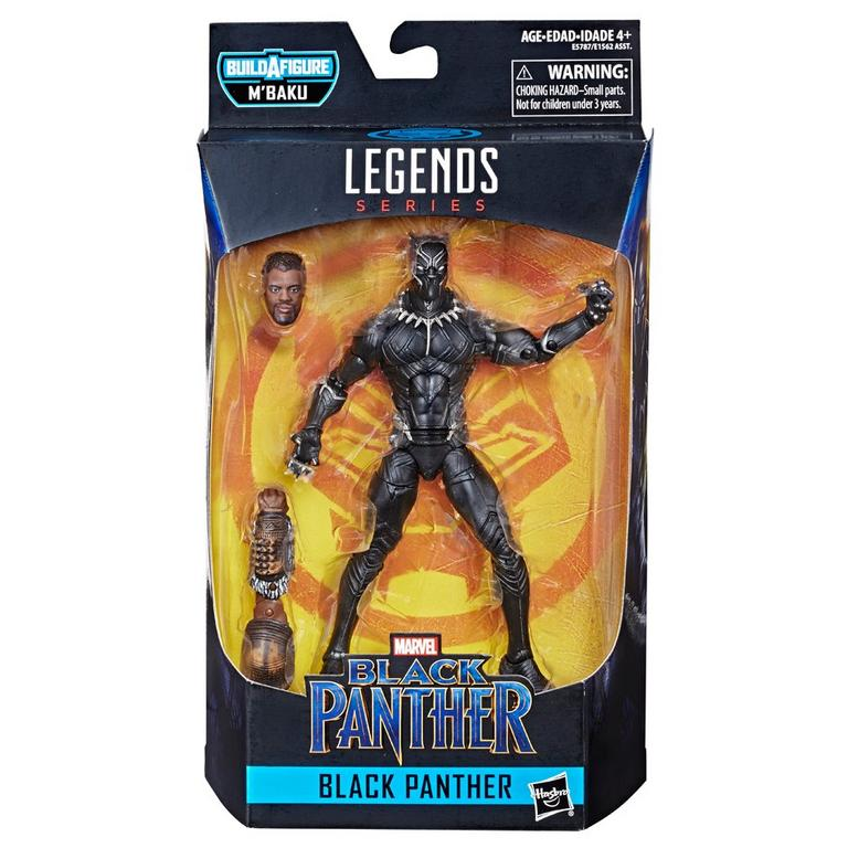 """Legends Series 6/"""" Black Panther Figure Marvel Styles May Vary"""