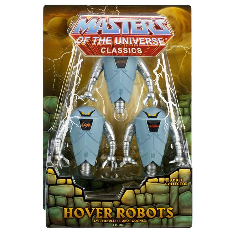 Masters of the Universe Hover Robots Figure