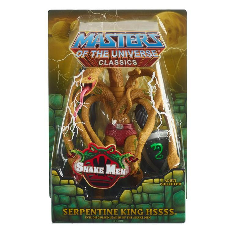Masters of the Universe Serpentine King Hssss Classics Action Figure