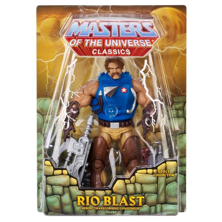 Masters of the Universe Rio Blast Classics Action Figure