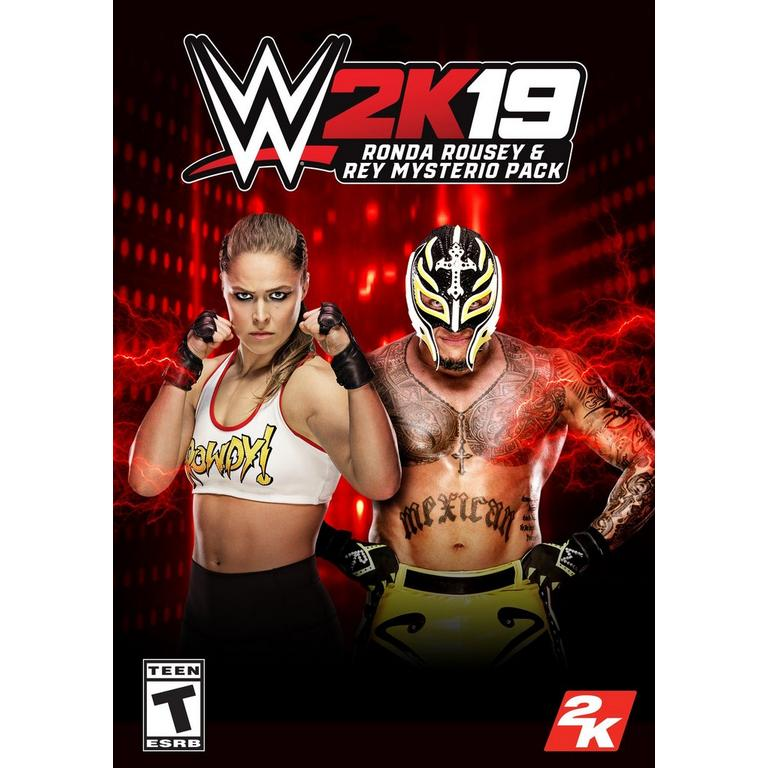 WWE 2K19 Ronda Rousey and Rey Mysterio Pack