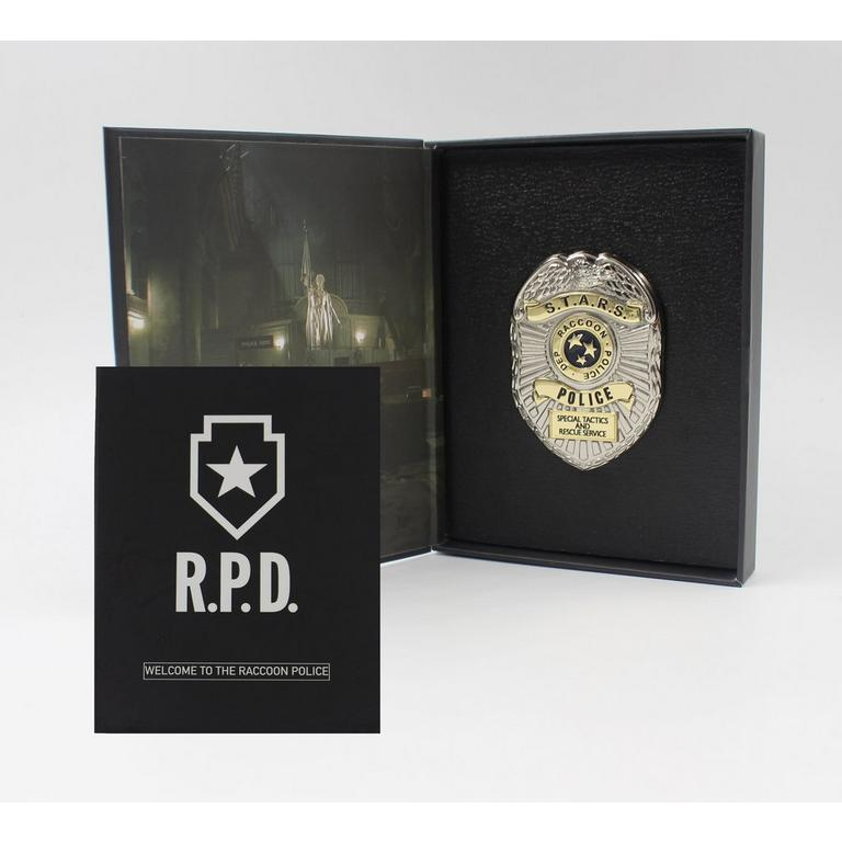 Resident Evil 2 RPD Badge Shield Pin