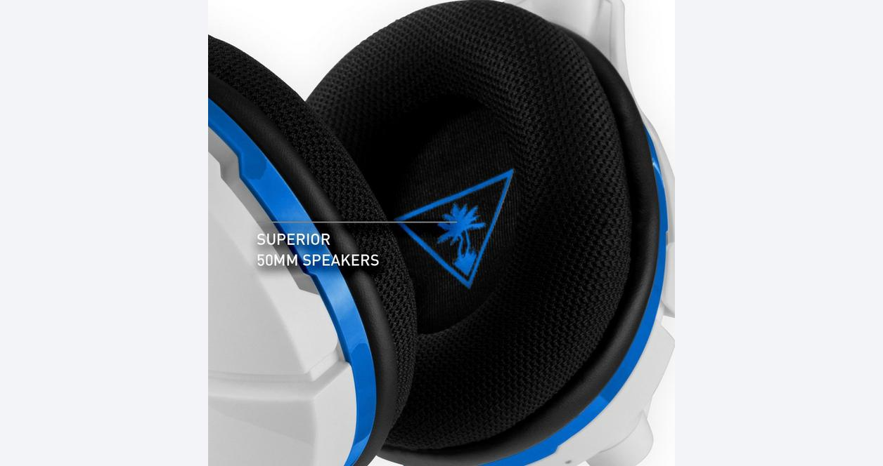 Stealth 600 White Wireless Gaming Headset for PlayStation 4