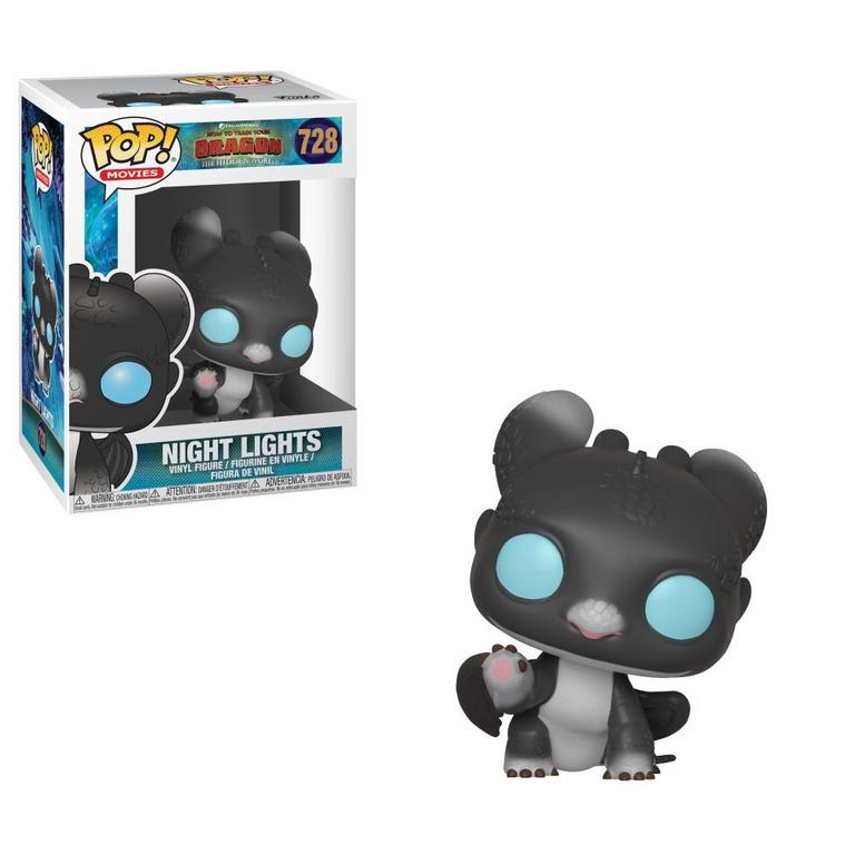 POP! Movies: How to Train Your Dragon: The Hidden World Night Lights Black and Blue