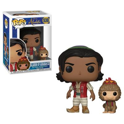 POP! Disney: Aladdin Live Action Aladdin of Agrabah and Abu