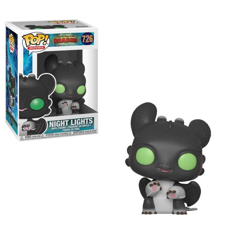 POP! Movies: How to Train Your Dragon: The Hidden World Night Lights Black and Green