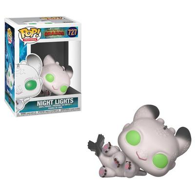 POP! Movies: How to Train Your Dragon 3 - Night Lights (White and Green)
