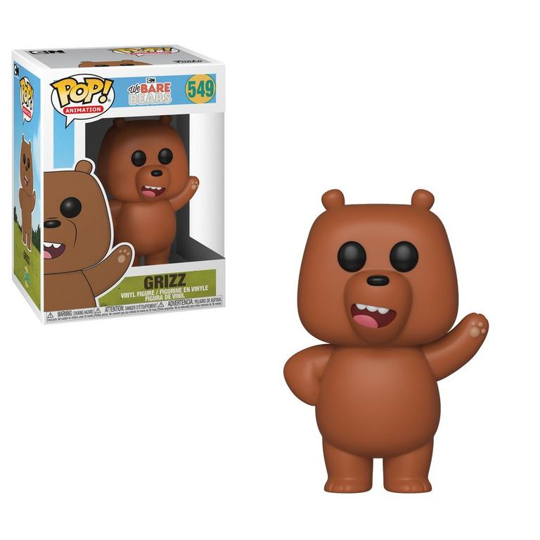 POP! Animation: We Bare Bears Grizz