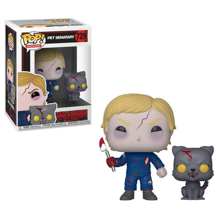Funko POP! Movies: Pet Sematary Undead Gage and Church