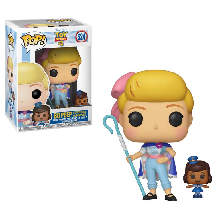 POP! Disney: Toy Story 4 Bo Peep with Officer Giggle McDimples