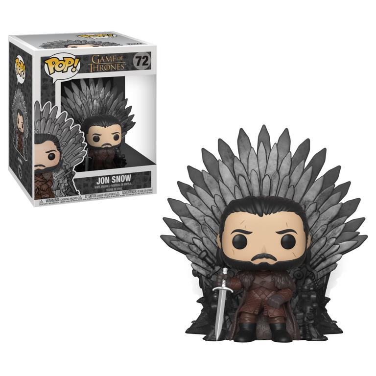 POP! Deluxe: Game of Thrones Jon Snow on Throne