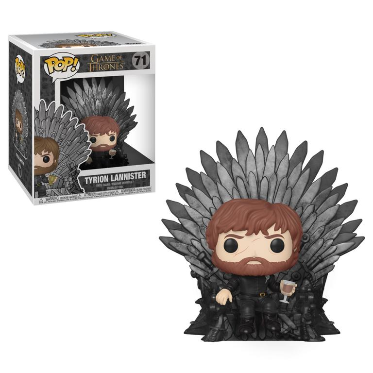 POP! Deluxe: Game of Thrones Tyrion Lannister on Throne