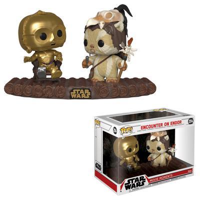 POP! Star Wars: Movie Moments Encounter on Endor C-3PO on Throne