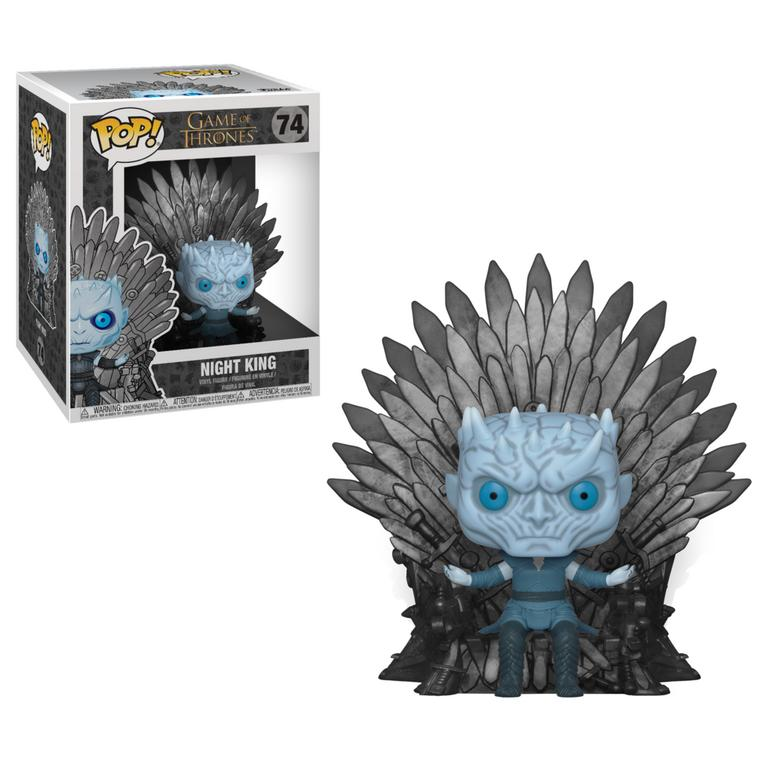POP! Deluxe: Game of Thrones Night King on Throne