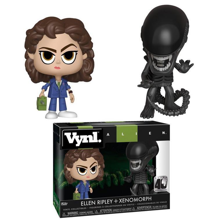 VYNL: Alien 40th Anniversary Xenomorph and Ripley with Tracker