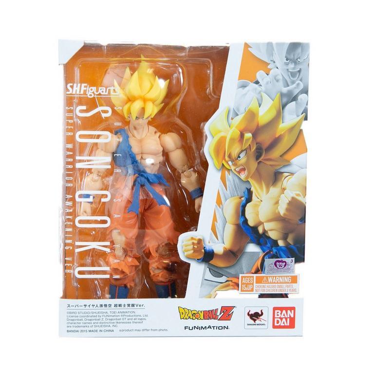 Dragon Ball Z Super Saiyan Son Goku Awakening Version S.H. Figuarts Action Figure