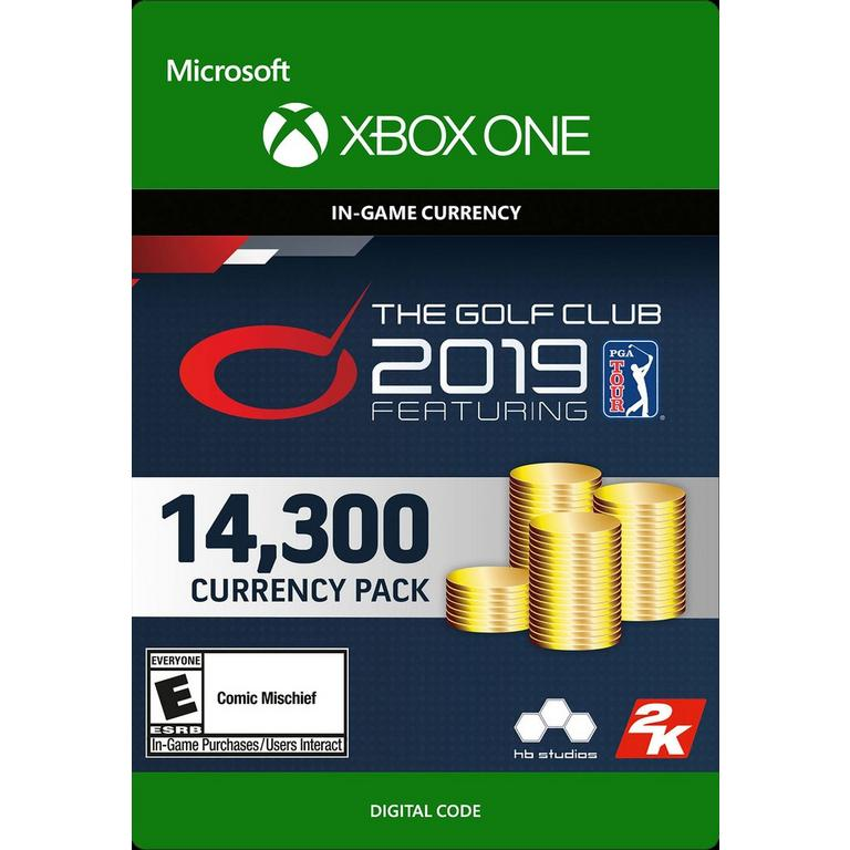 The Golf Club 2019 Featuring PGA Tour 14,300 Currency Pack