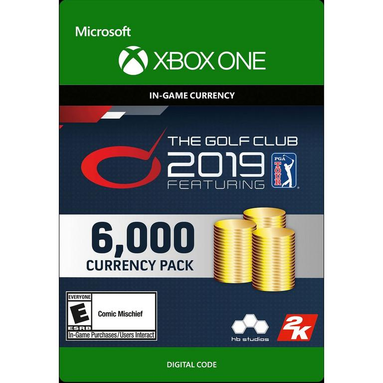 The Golf Club 2019 featuring PGA Tour - 6,000 Currency