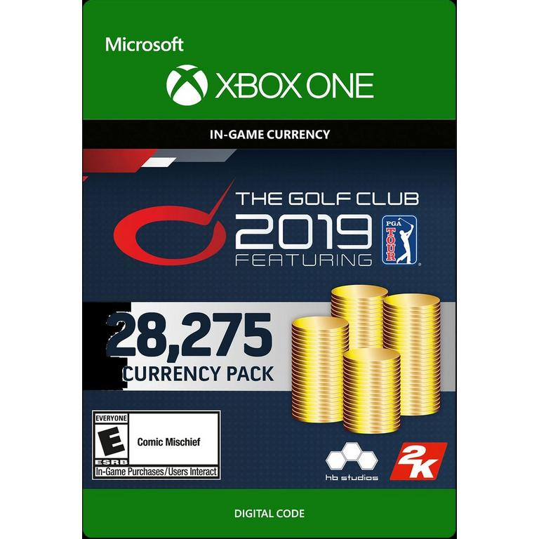 The Golf Club 2019 Featuring PGA Tour 28,275 Currency Pack