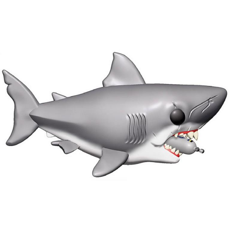 POP! Movies: Jaws - 6 inch Jaws with Diving tank