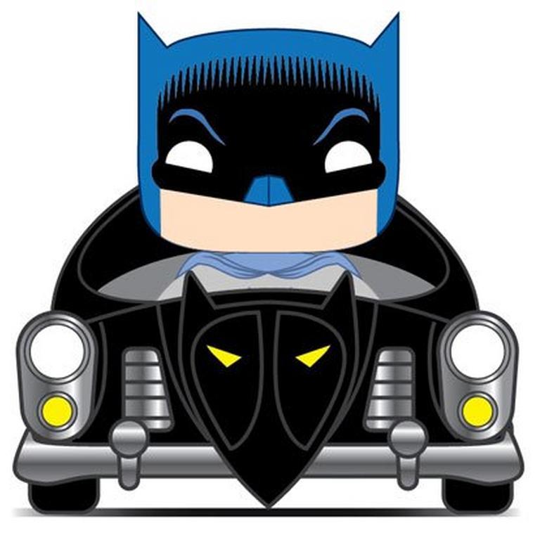 POP! Rides: Batman 80th Anniversary 1950 Batmobile