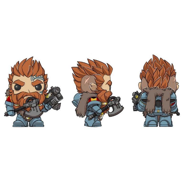 POP! Games: Warhammer 40K - Space Wolves Pack Leader