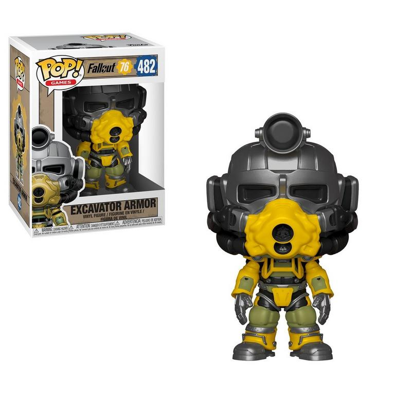 POP! Games: Fallout 76 Excavator Armor