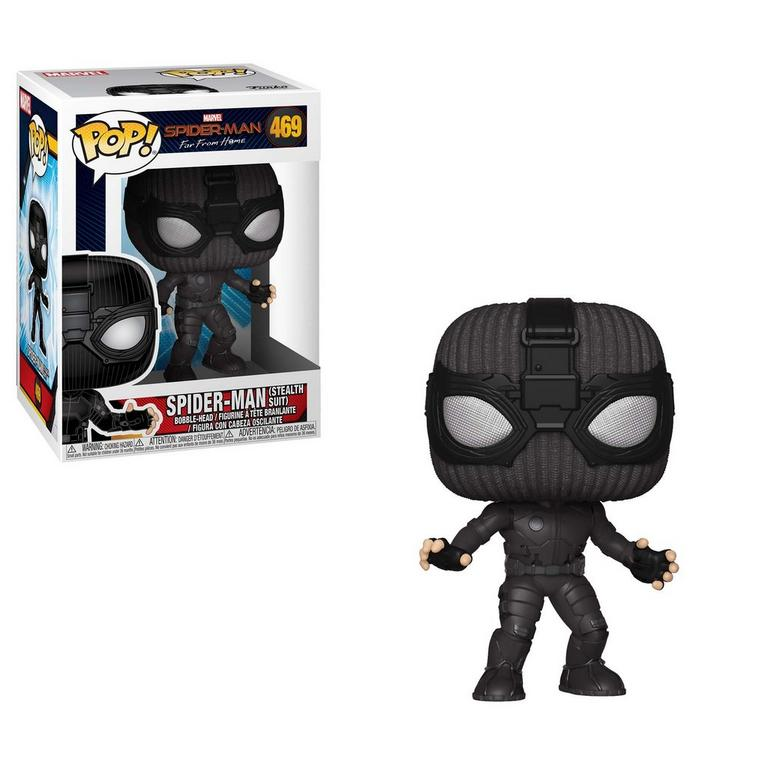 POP! Marvel: Spider-Man Far From Home Spider-Man (Stealth Suit)
