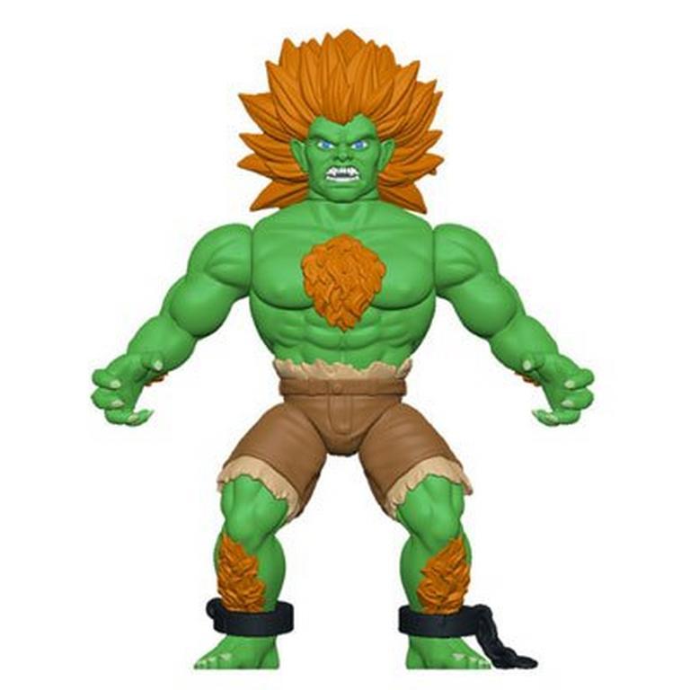Street Fighter Blanka Savage World Action Figure