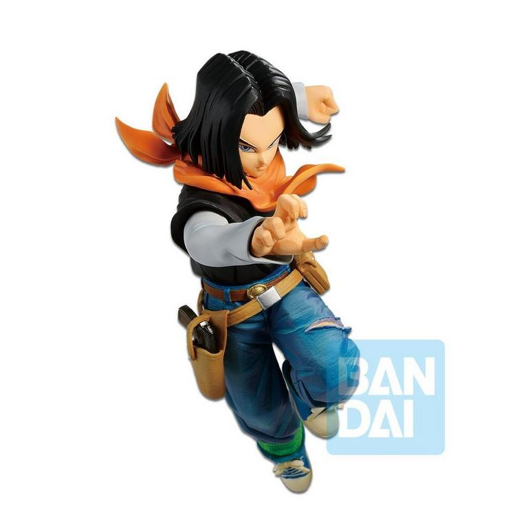 Dragon Ball Z: The Android Battle with Dragon Ball Fighterz Android 17 Figure