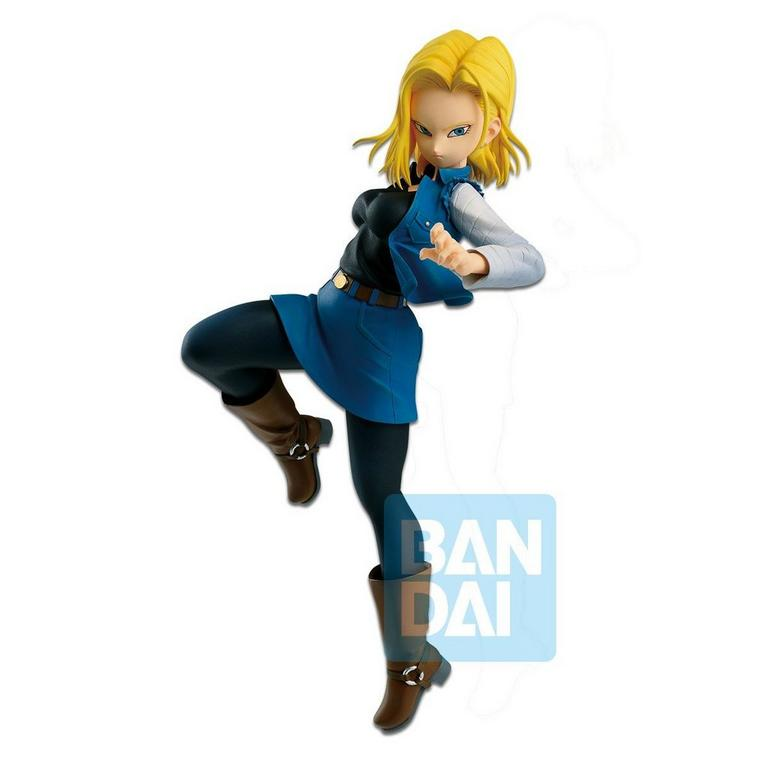 Dragon Ball Z: The Android Battle with Dragon Ball Fighterz Android 18 Figure