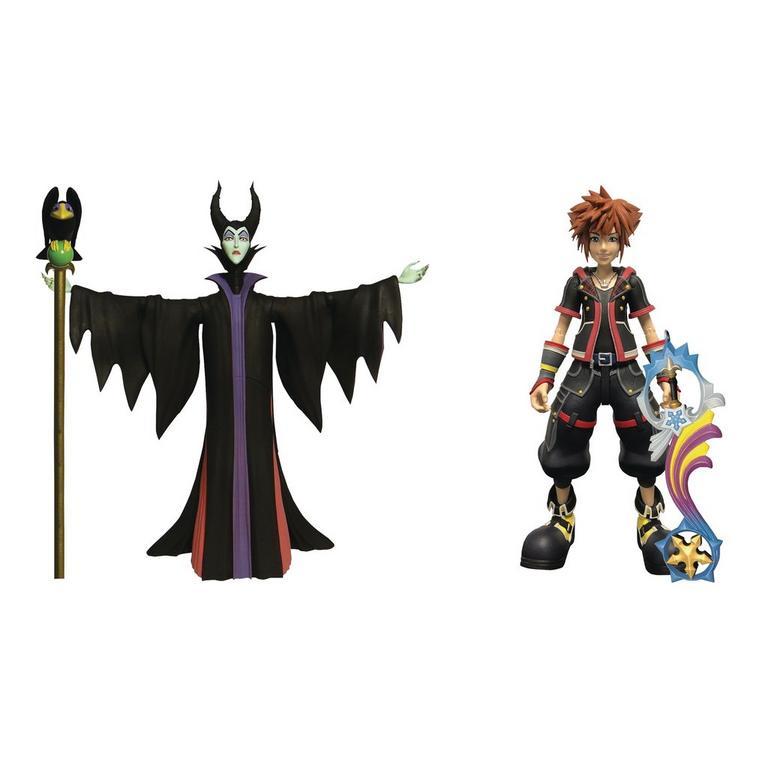 Kingdom Hearts III Maleficent and Sora Action Figure