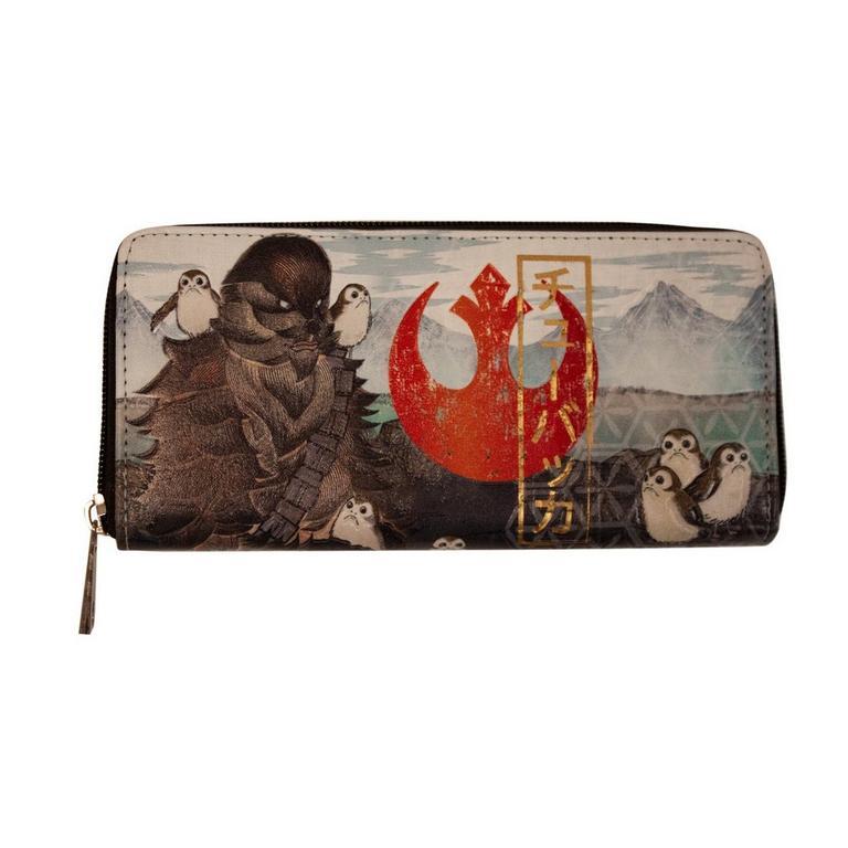 Star Wars Chewie and Porg Wallet