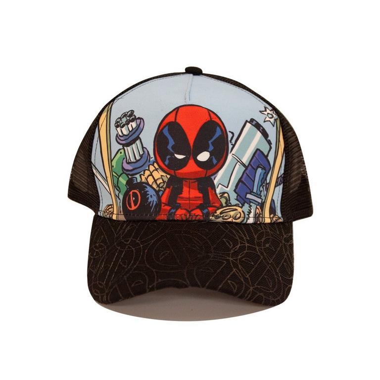 Deadpool Trucker Baseball Cap