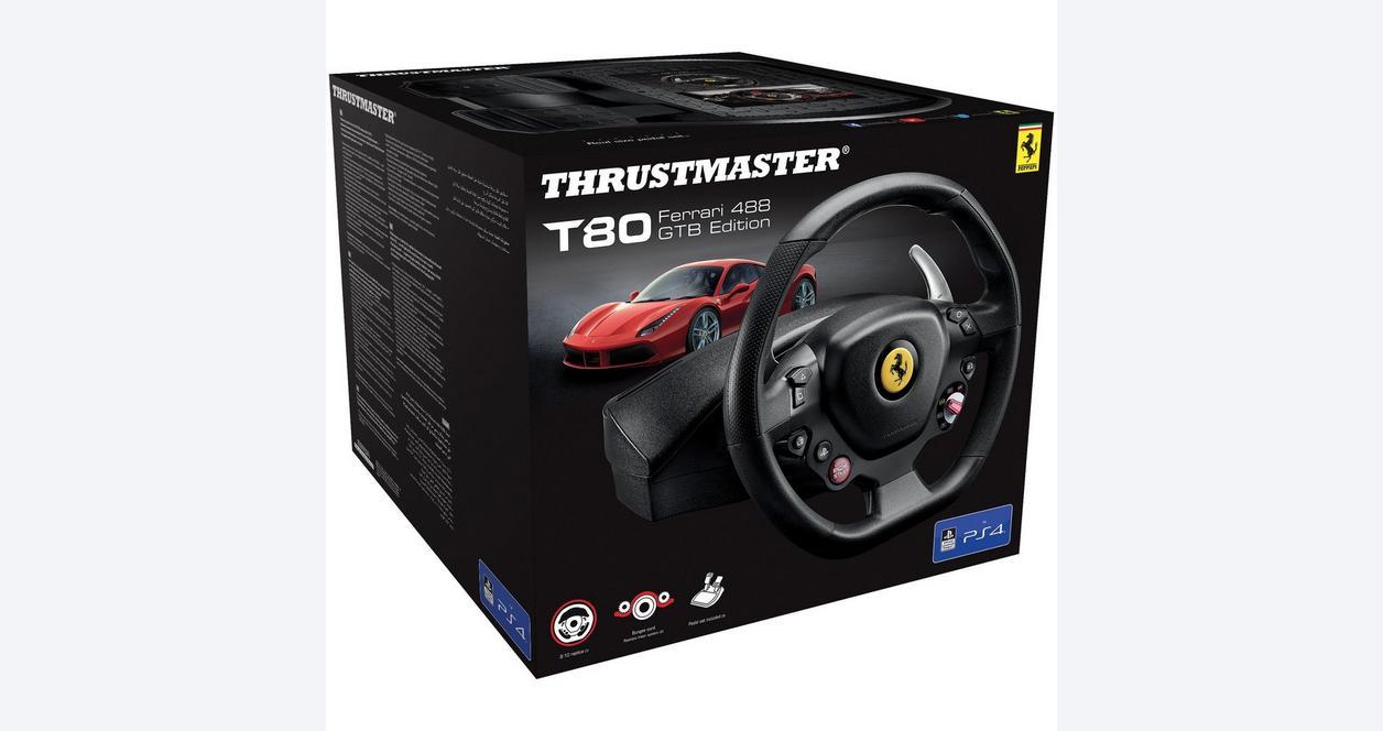 Thrustmaster T80 Ferrari 488 GTB Edition Racing Wheel