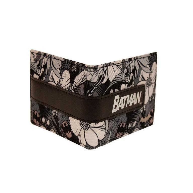DC Batman Floral Bifold Wallet